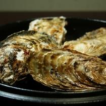 楽天プラン写真 牡蠣の陶板