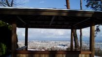 冬の第一展望台からの眺め
