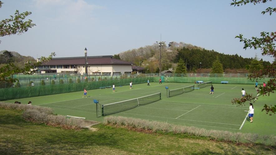 グリーンピア岩沼:テニスコート