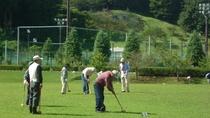 グリーンピア岩沼:グラウンドゴルフ