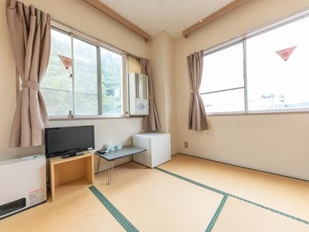【禁煙】和室一人部屋(バス・トイレ無し)