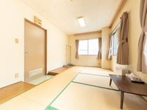 【禁煙】和室三人部屋