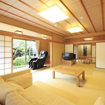 【禁煙】庭園付露天風呂客室・特別室/お部屋食