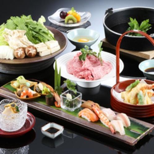 ◆猪名野_すき焼き会席
