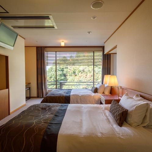 ◆客室_和洋室のベッドルーム