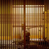 ◆客室_銀泉露天付き貴賓室のエントランス