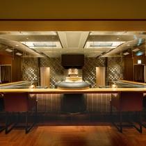 ◆シェフズルーム厨舎の鉄板カウンター