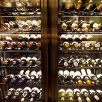 ◆シェフズルーム厨舎のワインセラー