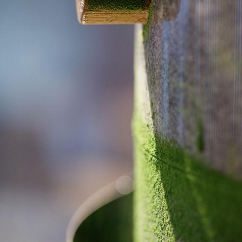 ◆猪名野茶房の挽きたての抹茶