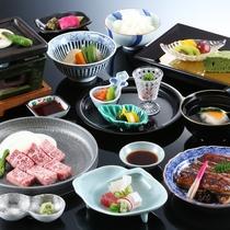 ◆猪名野_選べる会席(特選料理)の一例