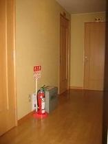 お部屋への廊下