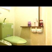 2F3Fのトイレは、男女兼用シャワートイレ