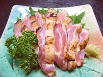 薩摩鶏のたたき