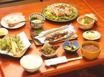 夕食500