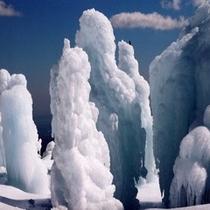 ☆氷の柱…氷瀑☆