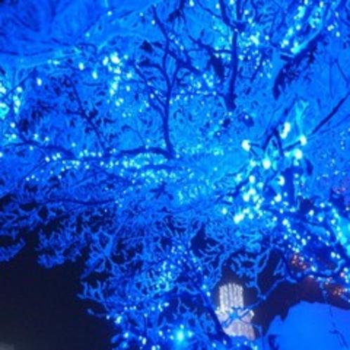 ☆樹氷ライトアップ☆
