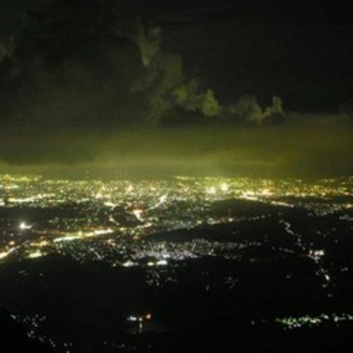 ☆露天風呂からの夜景☆