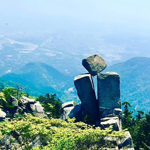 地蔵岩 夏
