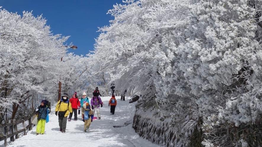 冬の御在所岳イメージ