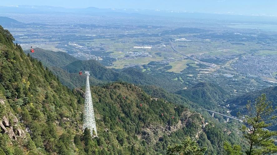 恵比寿岩からの展望