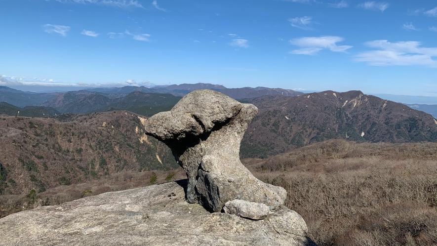 きのこ岩(国見岳)トレッキング