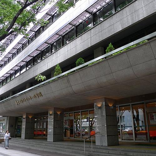 東京エレクトロンホールは当館真向い