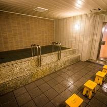 大浴場仙臺四郎の湯 1日の疲れを癒してください。