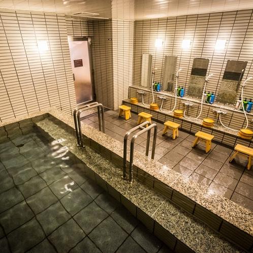 大浴場仙臺四郎の湯 足を伸ばしてゆっくりとお寛ぎください。