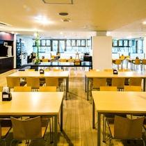 3階朝食コーナー 広々60席ございます。