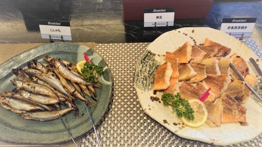 朝食レストラン 魚を朝から食べると健康的!