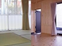 和室またはフローリング