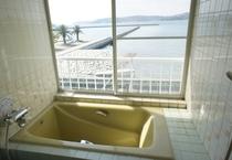 【貸切家族風呂】お風呂からの景色もオーシャンビュー♪