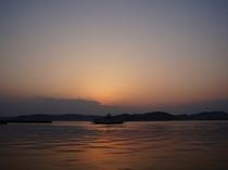 アラパパから見る夕暮れ