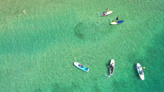 【2食付】阿南でSUP体験!初心者、シニアでも安心。阿南の海を満喫プラン。