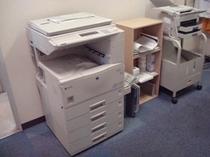 館内にFAX・コピー機設置