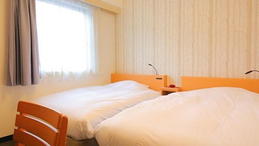 【エコノミーツインB】120cm幅×2台/16平米<無料Wi-Fi>