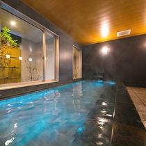 """【男性用】広々とした大浴場で、手足を伸ばして""""湯ったり""""1日の疲れを癒して下さい♪"""