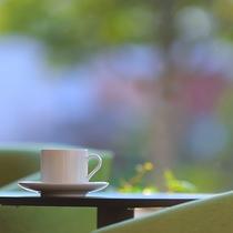 """【施設イメージ】慌ただしい朝に、""""ちょっと一息""""コーヒーはいかがでしょうか"""