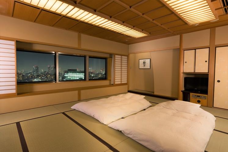 最上階和室(15畳と広々‼︎最大6名まで宿泊できます)