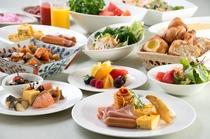 ボリューム満点朝食 コロナ感染対策のため一部メニュー変更あり