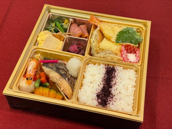 松花堂弁当(お魚)