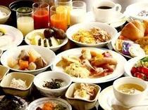 ■朝食:和洋50種以上のメニューが大好評♪