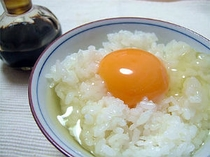 ■朝食:絶品卵「竹鶏物語」も食べ放題♪