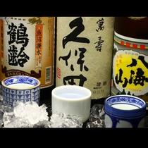 新潟の名酒飲み比べ