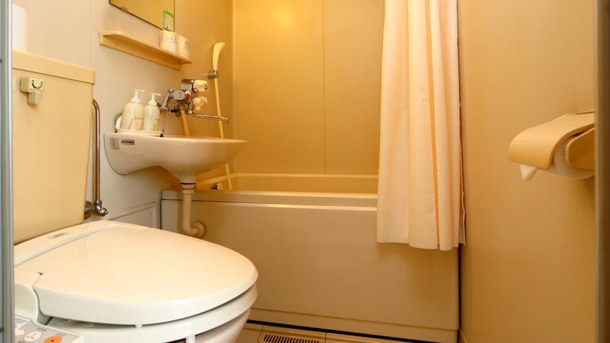 【西館和室】バス・トイレ付 設備充実