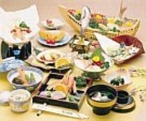日本海海の幸プラン料理例