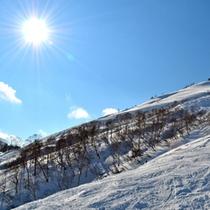 *スキー場