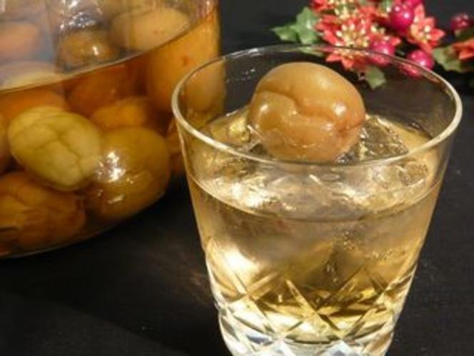 女将手作りの梅酒