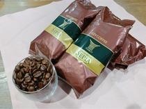 使用しているコーヒー豆は トラジャブレンド 優しい苦味で、独特で芳醇な香りや豊かな甘みが特徴です