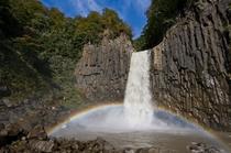 虹の苗名滝